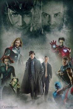Mycroft secretly works with SHIELD. Moriarty is trying to get in league with Loki. Sherlock and Fury do NOT get along. Watson tries to teach Steve about the modern world. And Tony is none too happy about another arrogant genius hanging around...