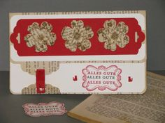 Stampin' up meets Agatha Christie, Pansy Punch, Scalloped Tag Topper Punch, Alles im Rahmen