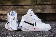 Nike Air Force 1 High Perf White & Black #sneakernews #Sneakers #StreetStyle #Kicks #adidas #nike #vans #newbalance #puma #ADIDAS #ASICS #CONVERSE #DIADORA #REEBOK #SAUCONY