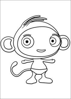 Waybuloo Fargelegging for barn. Tegninger for utskrift og fargelegging nº 21