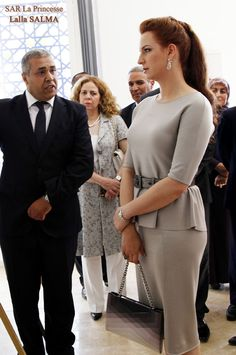 19 mai 2014 SAR la Princesse Lalla Salma