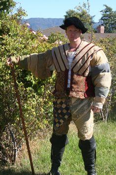 Landsknecht from scrap by Josh Grant, via Behance Landsknecht, Bradley Mountain, Scrap, Military, Men's Clothing, Period, Behance, Fashion, Moda
