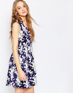 1955295ad29 Poppy Lux Sadirah Fit And Flare Dress at asos.com