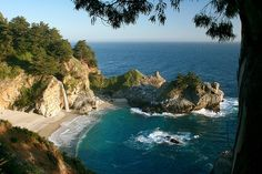 McWay Falls at Julia Pfeiffer Burns State Park, CA 5531 by AvarusMentis, via Flickr