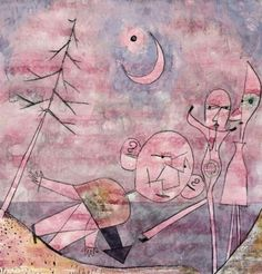 Paul Klee Scene at the Water 1922