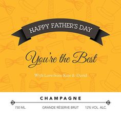 Yellow Men's Accessories You're Awesome, Men's Accessories, Fathers Day, Champagne, Good Things, Yellow, Happy, You Are Amazing, Father's Day