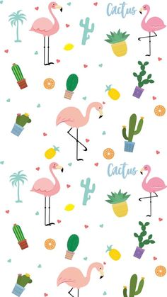 Pink Flamingo Wallpaper, Pineapple Wallpaper, Cute Wallpaper For Phone, Summer Wallpaper, Locked Wallpaper, Cute Wallpaper Backgrounds, Kawaii Wallpaper, Cute Fall Wallpaper, Cute Wallpapers