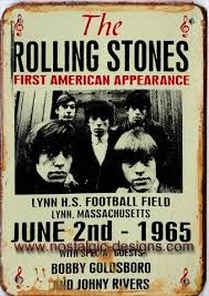 vintage printed material on the rolling stones rock band - Google Search