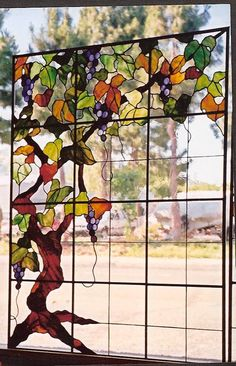 My Glass Images | Custom Stained Glass at the Russian River, Sonoma County Northern California
