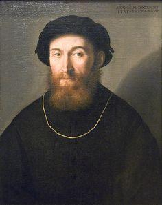 Bust of a Bearded Man - Lorenzo Lotto