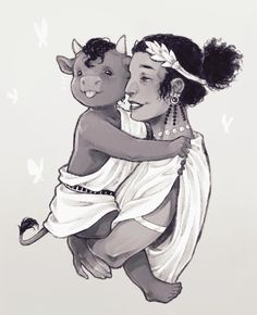Greek Mythology Gods, Mythology Books, Greek Gods, Character Inspiration, Character Design, The Minotaur, Divas, Hades And Persephone, Beautiful Anime Girl