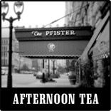 Afternoon Tea at the Pfister Hotel in Milwaukee