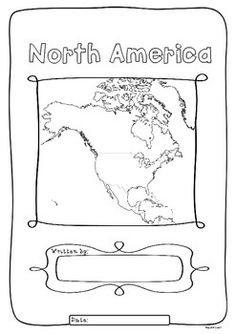 North America 23 Countries Study - worksheets maps and flags for each country - All the Interesting Information You're Wondering Here Continents And Countries, Countries Europe, List Of Countries, Interesting Information, Interesting Facts, Hello Font, Book Cover Page, Social Studies Projects, Third Grade Science