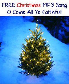 FREE Christmas MP3 Song: O Come All Ye Faithful!