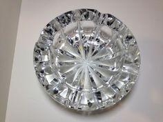 Vintage Cut Crystal Ashtray ****NO RESERVE****