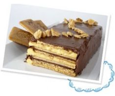 TostaRica: Tarta de galletas con nocilla