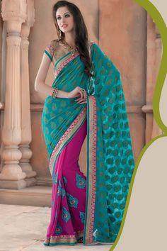 New Arrivals: Look at Samyakk Latest Trendy Designer Saree Collection @Best Price with Express Free Delivery Worldwide. Visit www.samyakk.com
