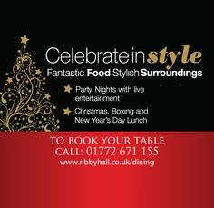 Planning ahead for the festive season? The Restaurant at Ribby Hall Village is the place to be! Places To Eat, Fine Dining, Festive, Food And Drink, Restaurant, Entertaining, How To Plan, Diner Restaurant, Restaurants