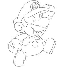 how to draw mario fun drawing lessons for kids adults - Fun Drawings For Kids