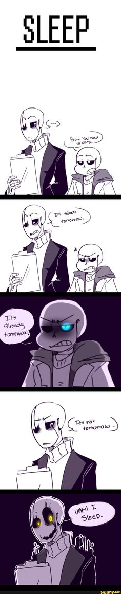 Honestly, I can relate to Gaster. I can be very argumentative when I'm reading.