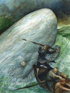 Omar Rayyan. Moby Dick