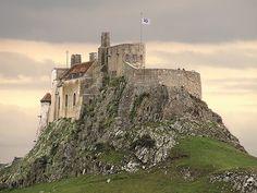 Lindisfarne Castle  Not a place to be a sleepwalker
