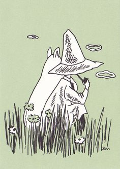 Snufkin and Moomin- It's come to my notice that Snufkin is my ideal man.