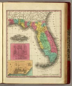 Atlas of the United States. County Map of North Carolina, South ...