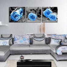 3D голубой розы кросс комплект стежка ручной DIY устанавливает шить комплект для вышивания крестиком комплект ремесло рукоделие цветочное Home Decor(China (Mainland))