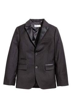 H&M Blazer with Satin Details