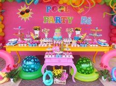 Pool Party Inspiration   Dentro Da Festa Blogspot #dentrodafesta