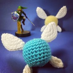 Crochet legend of Zelda Navi