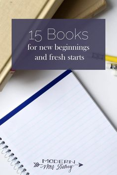 15 books for new routines and fresh starts.