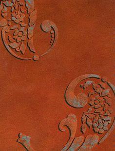 ❖ m a p l e & c i n n a m o n & g i n g e r ♠️ Murs Oranges, Paisley, Rust Never Sleeps, Potters Clay, Decoupage, Pantone 2020, Recycling, Terracota, Modern Masters
