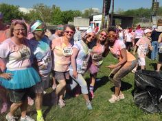 Knoxville Tennessee April 16, 2014 Color Me Rad