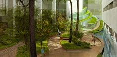 Walter Reed National Military Medical Center Healing Garden