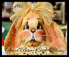 Sweet Bear Creek Whims Happenings...: Bunny Face Painting Tutorial # 2 (Clover)