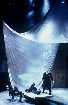 The Rape of Lucretia. Canadian Opera Company. Scenic design by Astrid Janson. 1999