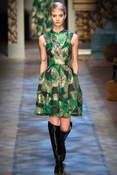 Erdem Fall 2015 Ready-to-Wear Fashion Show - Alexandra Elizabeth