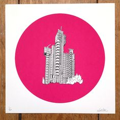 Architectural London prints by Will Clarke