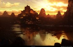 Somnio Studios Concept Art and Matte Painting