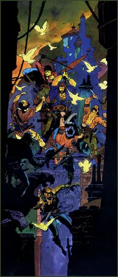 Mike Mignola   Fafhrd & Gray Mouser