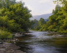 Late Summer Waters by Andrew Orr in the FASO Daily Art Show