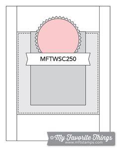 MFT Card Challenges: Wednesday Sketch Challenge - Sketch 250 -  #mftstamps