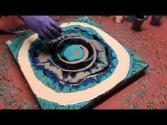 REVOLUTION OF EXTREME FLUID PAINTING!! YOU HAVE TO SEE THE WAY THIS PIECE TRANSFORMS!! PLEASE SHARE! - YouTube