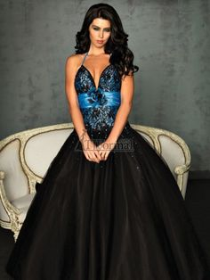 Black And Blue Wedding Dresses | White and blue wedding dresses ...