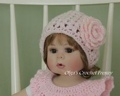 Crochet Baby Hat Pattern Size 3 6 Months Very Detailed