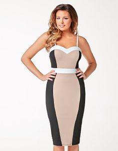 Jessica Wright Colour Block Strap Dress
