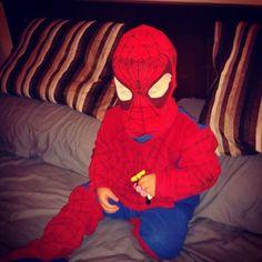 El Hombre Araña nos visita!