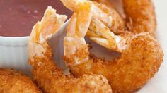 Crispy Coconut Shrimp with Sweet Red Chili Sauce